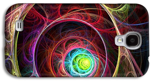 Light Galaxy S4 Cases - Tunnel of Lights Galaxy S4 Case by Anastasiya Malakhova