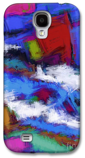 Loose Style Digital Art Galaxy S4 Cases - Turbulence Galaxy S4 Case by Keith Mills
