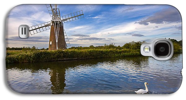 Turf Fen Drainage Mill Galaxy S4 Case by Louise Heusinkveld