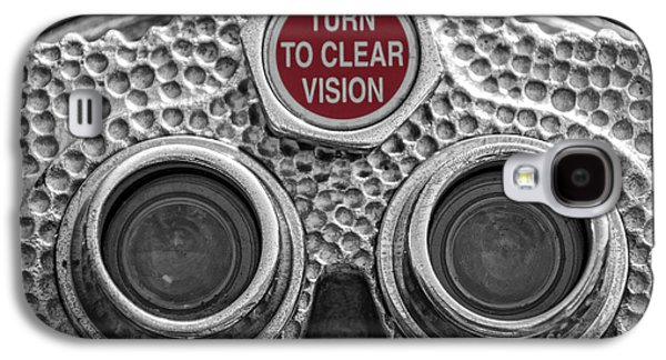 Coins Photographs Galaxy S4 Cases - Turn to Clear Vision Galaxy S4 Case by Juli Scalzi