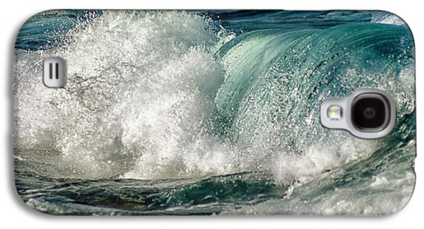 Beach Landscape Galaxy S4 Cases - Turquoise Waves Galaxy S4 Case by Stylianos Kleanthous