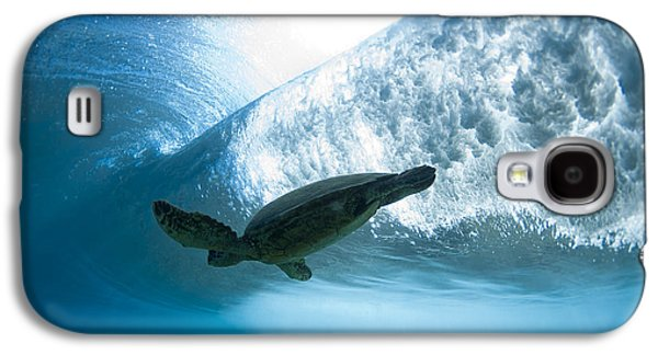 Ocean Art Photography Galaxy S4 Cases - Turtle clouds Galaxy S4 Case by Sean Davey