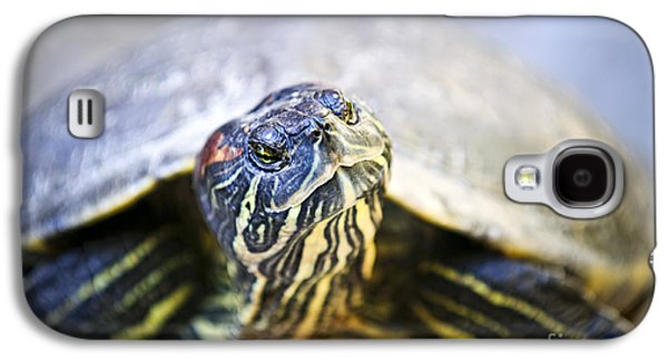 Slider Photographs Galaxy S4 Cases - Turtle Galaxy S4 Case by Elena Elisseeva
