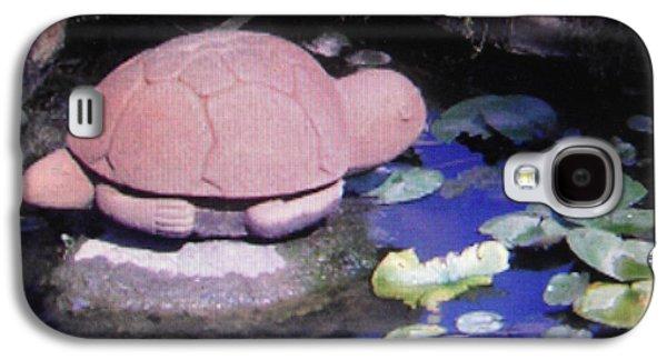 Canadian Pyrography Galaxy S4 Cases - Turtle tale Galaxy S4 Case by Iris Boyd-cherian