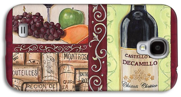 Grape Leaf Galaxy S4 Cases - Tuscan Collage 2 Galaxy S4 Case by Debbie DeWitt