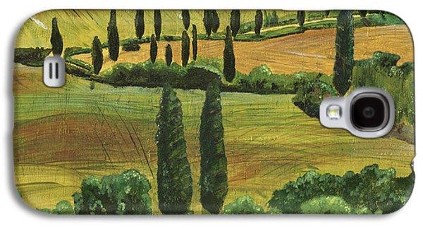 Tuscan Hills Galaxy S4 Cases - Tuscan Dream 1 Galaxy S4 Case by Debbie DeWitt