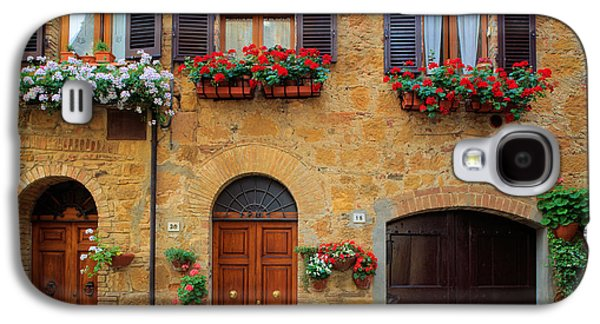 Facade Galaxy S4 Cases - Tuscan Homes Galaxy S4 Case by Inge Johnsson