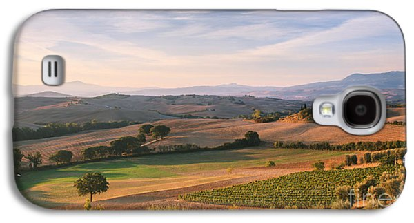Tuscan Sunset Galaxy S4 Cases - Tuscan landscape Galaxy S4 Case by Matteo Colombo