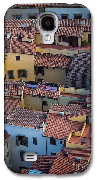 Rooftop Galaxy S4 Cases - Tuscan Rooftops Galaxy S4 Case by Inge Johnsson