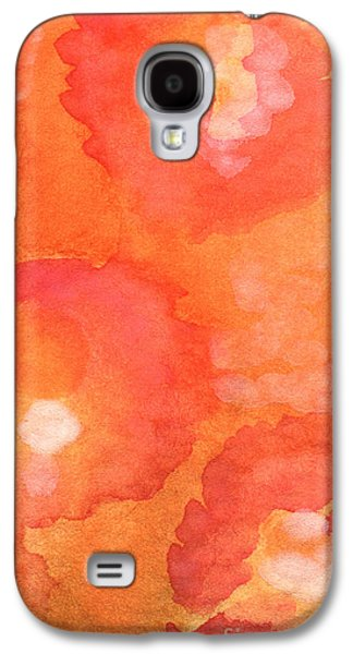 Garden Flowers Galaxy S4 Cases - Tuscan Roses Galaxy S4 Case by Linda Woods