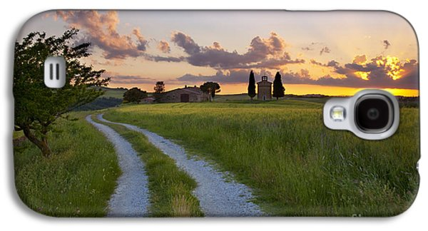 Tuscan Sunset Galaxy S4 Cases - Tuscan Sunset Galaxy S4 Case by Brian Jannsen