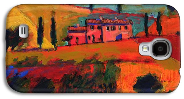 Italian Photographs Galaxy S4 Cases - Tuscany, 2008 Acrylic On Board Galaxy S4 Case by Paul Powis