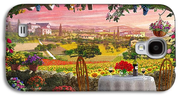 Meiklejohn Graphics - Galaxy S4 Cases - Tuscany Hills Galaxy S4 Case by Dominic Davison