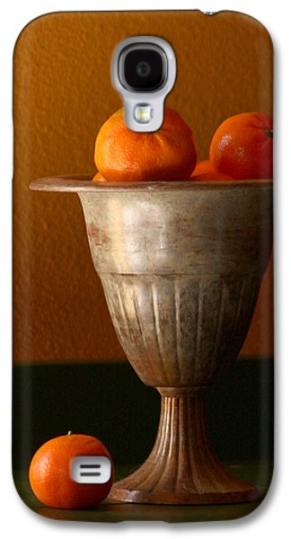 Kitchen Photos Galaxy S4 Cases - Tuscany Tangerines Galaxy S4 Case by Art Block Collections