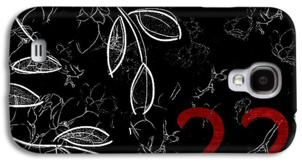 Digital Collage Galaxy S4 Cases - Twenty-two - bwr01 Galaxy S4 Case by Variance Collections