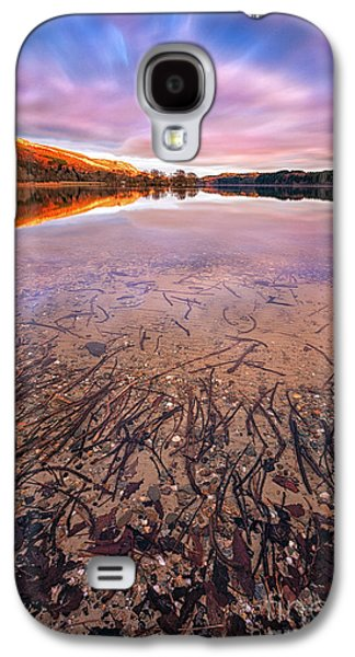 Boats On Water Galaxy S4 Cases - Twigs And Leaves  Galaxy S4 Case by John Farnan