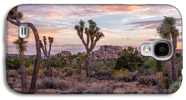 Locations Galaxy S4 Cases - Twilight comes to Joshua Tree Galaxy S4 Case by Peter Tellone
