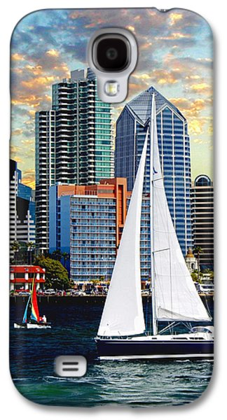 Sailboats In Harbor Galaxy S4 Cases - Twilight Harbor Curise1 Galaxy S4 Case by Ronald Chambers