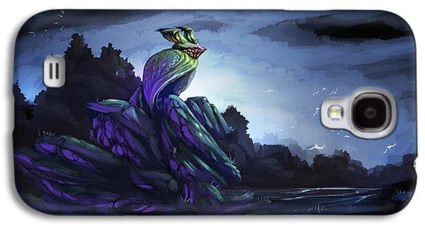 Phantasie Galaxy S4 Cases - Twilight Hour Galaxy S4 Case by Cassiopeia Art