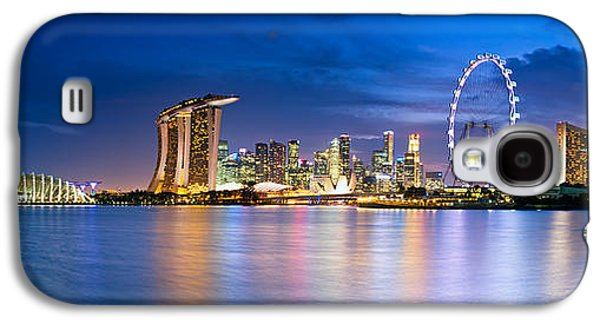 Twilight In Singapore Galaxy S4 Case by Ulrich Schade