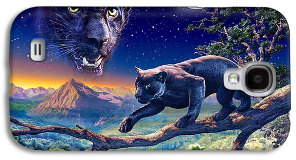 Exploration Galaxy S4 Cases - Twilight Panther Galaxy S4 Case by Adrian Chesterman