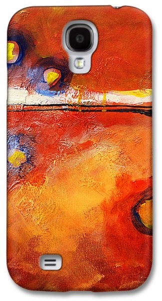 Sunset Abstract Galaxy S4 Cases - Twilight Time Galaxy S4 Case by Nancy Merkle