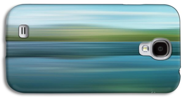 Abstraction Photographs Galaxy S4 Cases - Twin Lakes Galaxy S4 Case by Priska Wettstein
