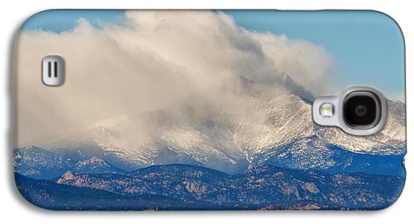 Landscape Acrylic Prints Galaxy S4 Cases - Twin Peaks Winter Weather View  Galaxy S4 Case by James BO  Insogna