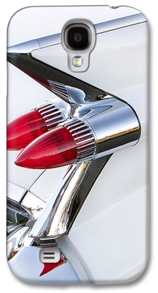 Robert Jensen Galaxy S4 Cases - Twin Taillights 1959 Cadillac Galaxy S4 Case by Robert Jensen