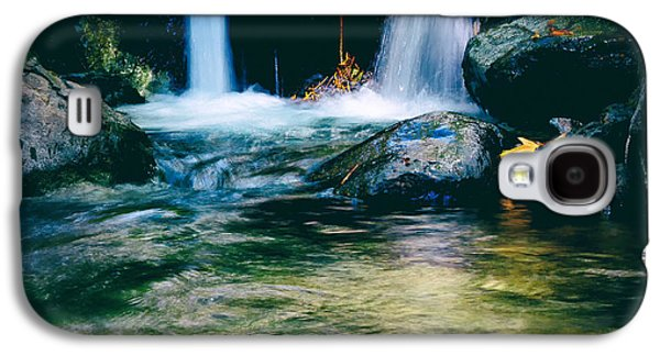 Becky Photographs Galaxy S4 Cases - Twin Waterfall Galaxy S4 Case by Stylianos Kleanthous