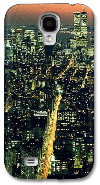 Twin Towers Nyc Galaxy S4 Cases - Twins Galaxy S4 Case by Jon Neidert