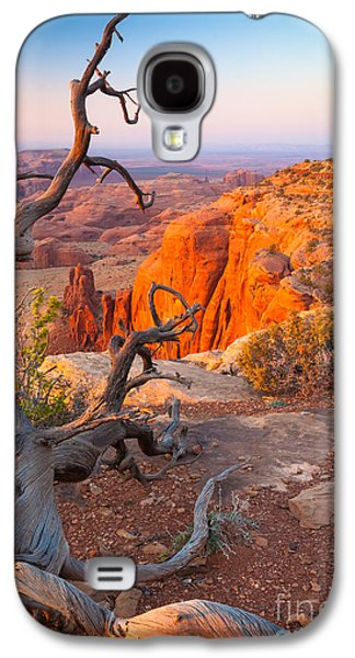 Geology Photographs Galaxy S4 Cases - Twisted Remnant Galaxy S4 Case by Inge Johnsson