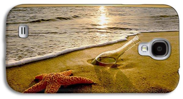 Vineyard In Napa Galaxy S4 Cases - Two Friends on the Beach Galaxy S4 Case by Jon Neidert