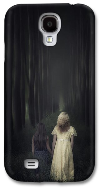 Woman Photographs Galaxy S4 Cases - Two Girls In A Forest Galaxy S4 Case by Joana Kruse