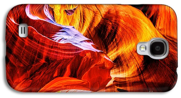Black Top Galaxy S4 Cases - Two Lions Dance Galaxy S4 Case by Az Jackson