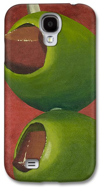 Two Olives In Search Of A Bloody Mary Galaxy S4 Case by Garry McMichael