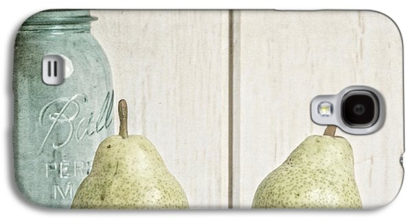 Style Life Photographs Galaxy S4 Cases - Two Pear Still Life Galaxy S4 Case by Edward Fielding