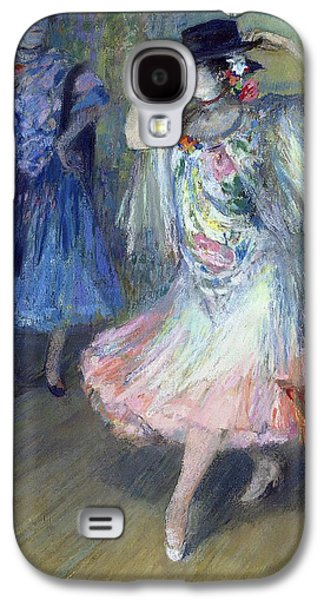 Shawl Galaxy S4 Cases - Two Spanish Dancers Pastel On Paper Galaxy S4 Case by Juan Roig y Soler