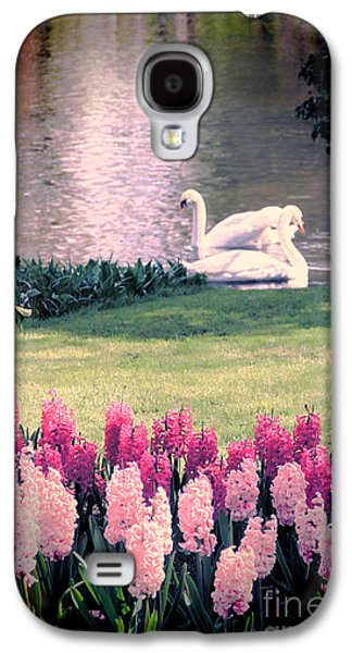 Swans... Galaxy S4 Cases - Two Swans Galaxy S4 Case by Jasna Buncic