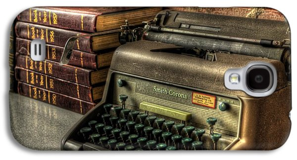 Processor Photographs Galaxy S4 Cases - Typewriter Galaxy S4 Case by David Morefield
