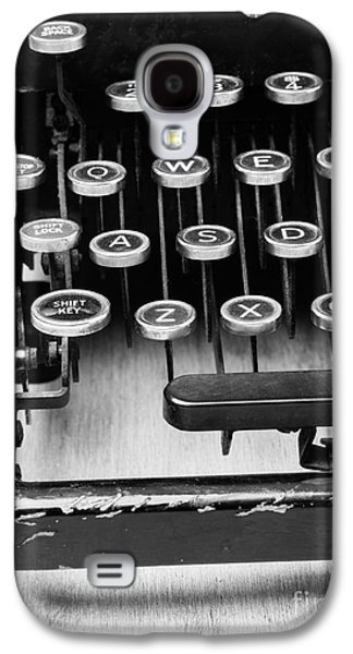 Typewriter Keys Photographs Galaxy S4 Cases - Typewriter Triptych Part 1 Galaxy S4 Case by Edward Fielding