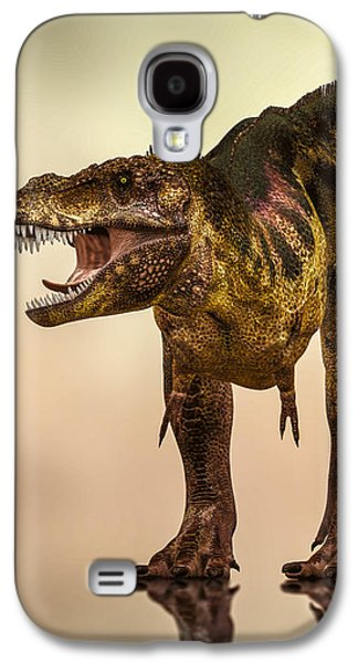 Extinct And Mythical Digital Art Galaxy S4 Cases - Tyrannosaurus Rex Dinosaur  Galaxy S4 Case by Bob Orsillo