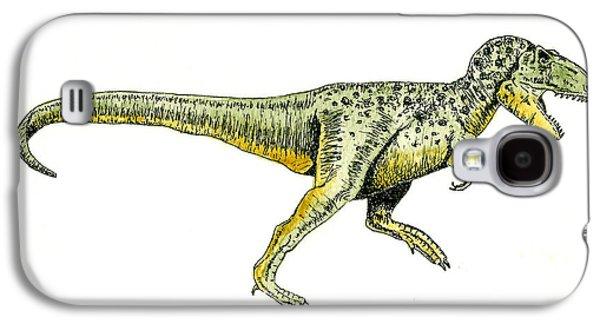 Tyrannosaurus Rex Galaxy S4 Case by Michael Vigliotti
