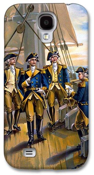 Commander In Chief Galaxy S4 Cases - U S Navy Commander in Chief Of The Fleet Galaxy S4 Case by The Werner Company