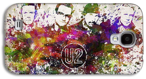 U2 In Color Galaxy S4 Case by Aged Pixel