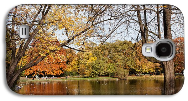 Nature Center Pond Galaxy S4 Cases - Ujazdowski Park in Warsaw Galaxy S4 Case by Artur Bogacki