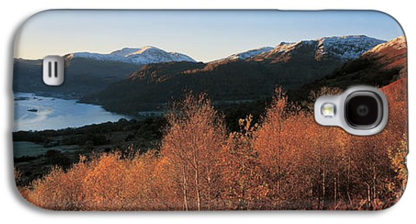 Trees In Snow Galaxy S4 Cases - Ullswater Lake District England Galaxy S4 Case by Panoramic Images