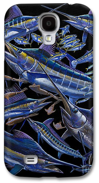 Black Marlin Galaxy S4 Cases - Ultimate Goal Off00128 Galaxy S4 Case by Carey Chen