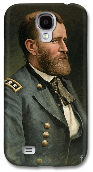 Personalities Photographs Galaxy S4 Cases - Ulysses S Grant 18th US President Galaxy S4 Case by Wellcome Images