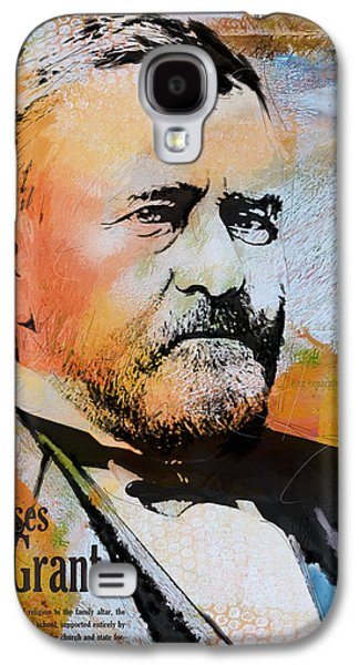 James Buchanan Galaxy S4 Cases - Ulysses S. Grant Galaxy S4 Case by Corporate Art Task Force